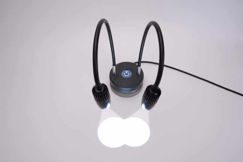 task lighting and spot lighting